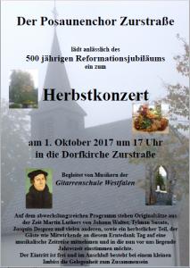 Herbstkonzert 2017