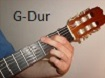 Gitarrengriff G Dur
